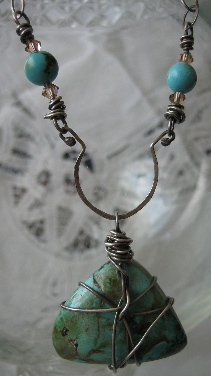 Turquoise hanging